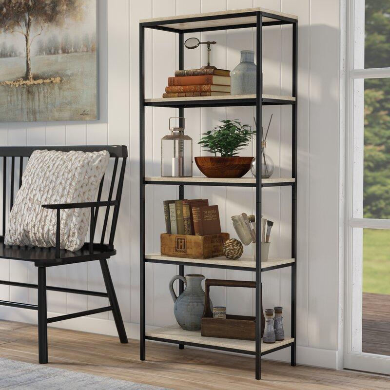 8fb1679cbf04 Laurel Foundry Modern Farmhouse Ermont Etagere Bookcase   Reviews ...