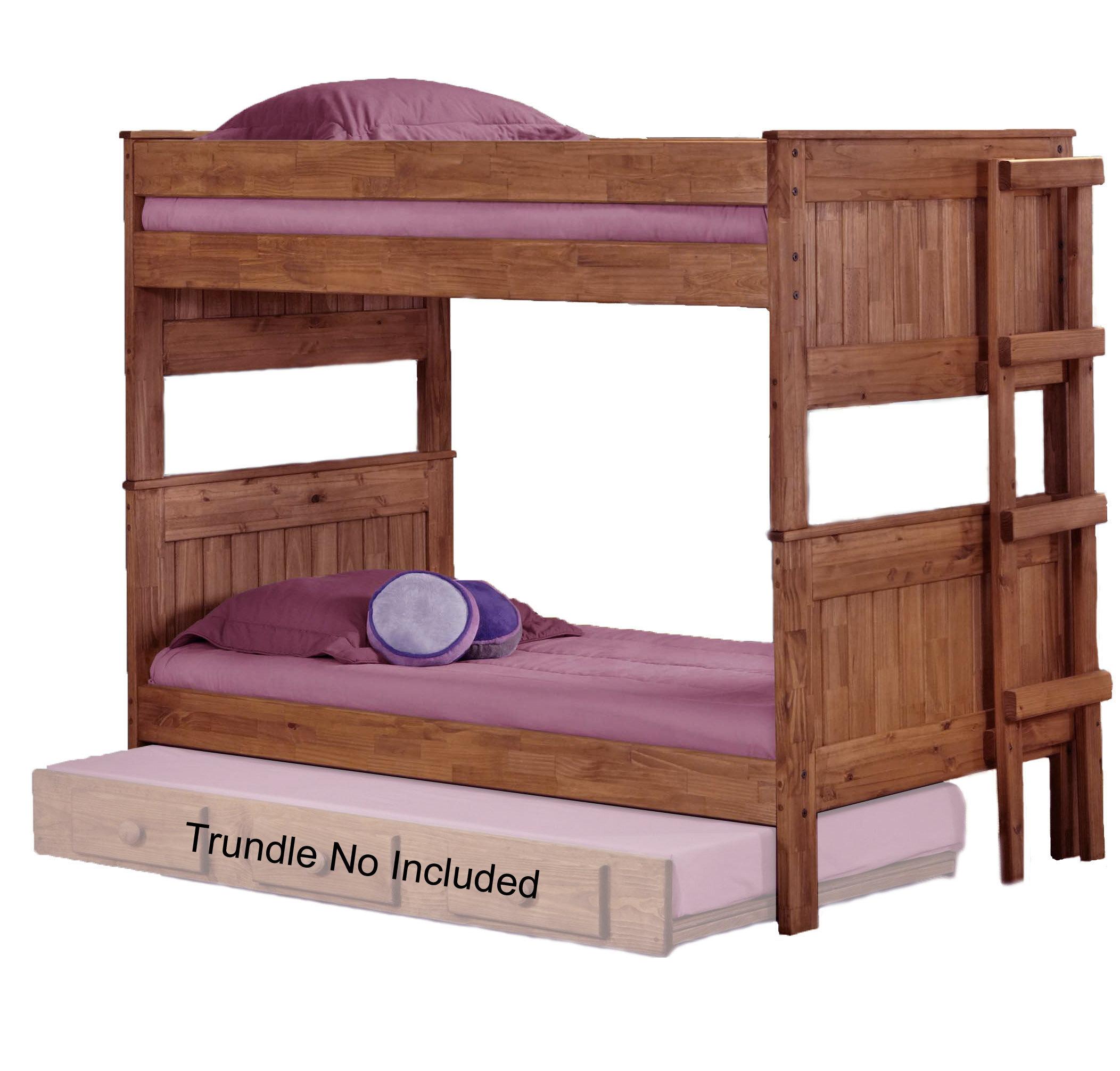 Harriet Bee Chavez Stackable Twin Over Twin Bunk Bed Wayfair