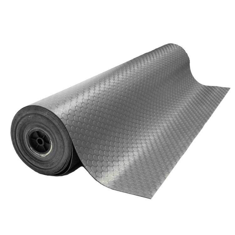 Coin Grip Anti Slip Rolled Rubber Mat