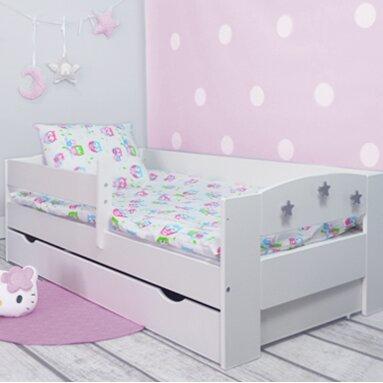 m bel concept kinderbett elena mit matratze und schublade 80 x 160 cm bewertungen. Black Bedroom Furniture Sets. Home Design Ideas