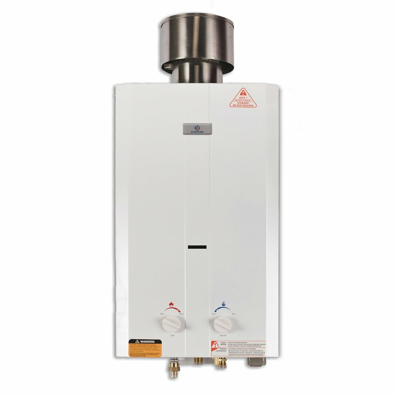 Eccotemp eccotemp 2 6 gpm portable liquid propane tankless Tankless water heater for 4 bedroom house
