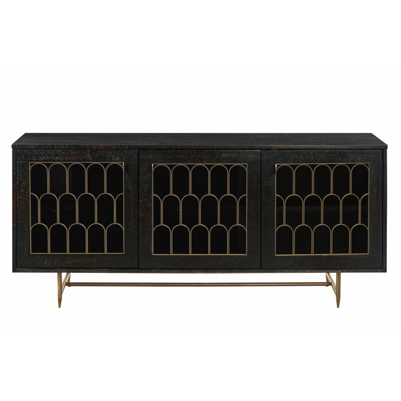Exceptionnel Lavine Wood Buffet Table