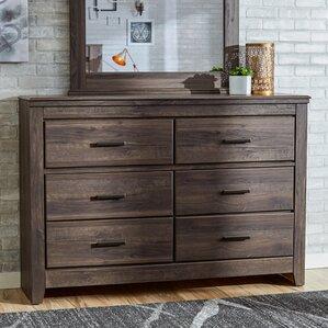 Hayward 6 Drawer Dresser by Mercury Row