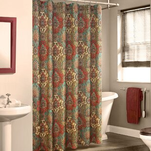 Fantine Linen Shower Curtain