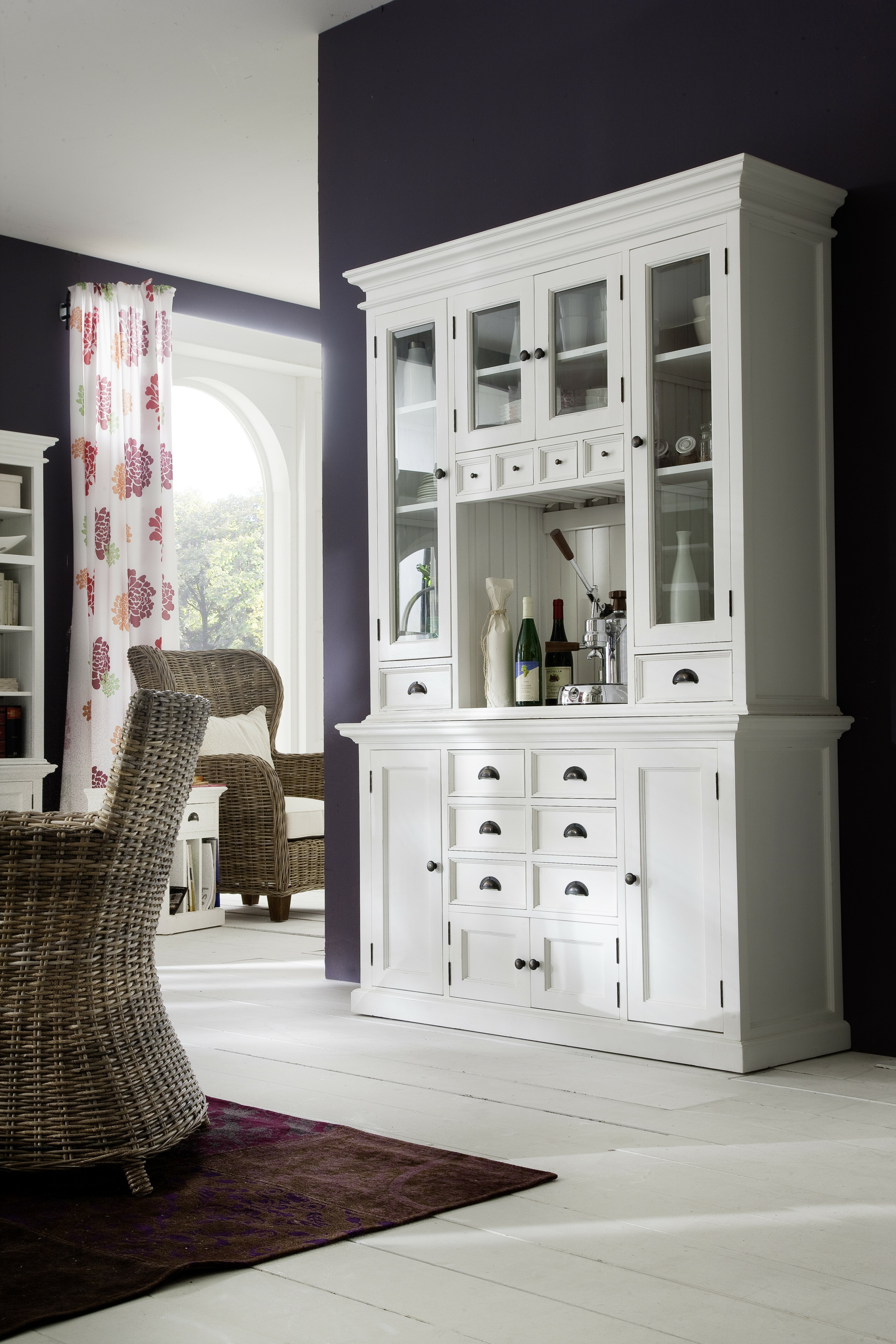 Beachcrest Home Amityville Kitchen China Cabinet & Reviews