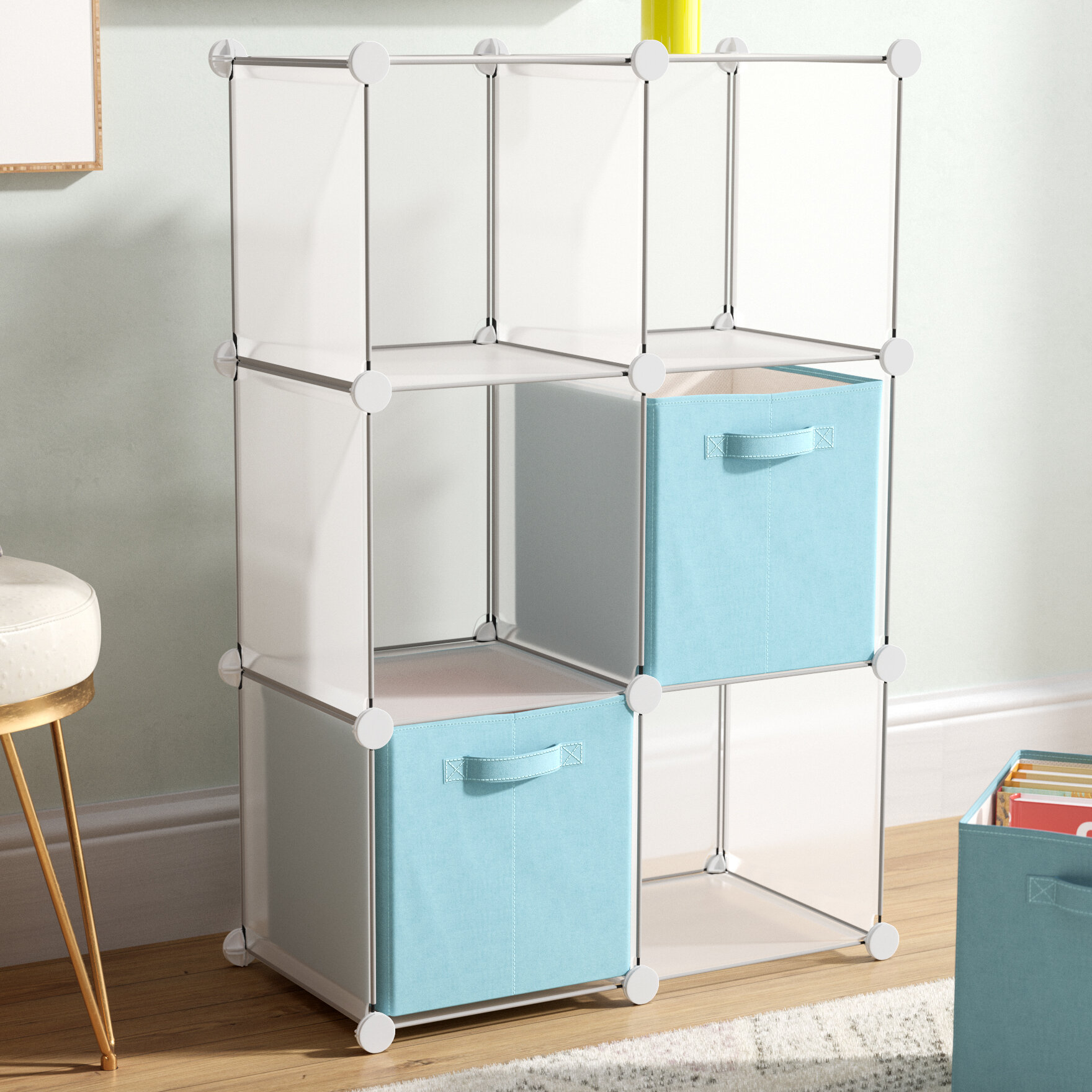 Symple Stuff Modern Cube DIY Unit Cube Bookcase & Reviews | Wayfair