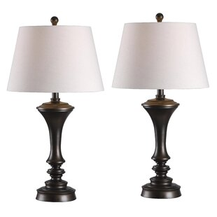 Table lamps youll love wayfair norris 29 table lamp set of 2 aloadofball Image collections