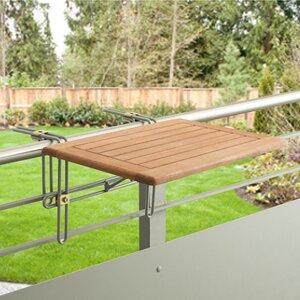 Klappbarer Balkontisch Lobelia von Garten Living