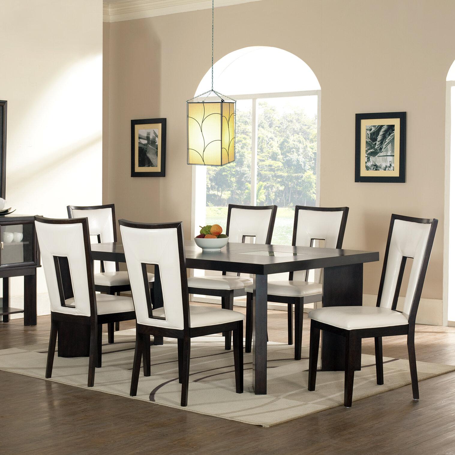 Brayden Studio Hillcrest 7 Piece Counter Height Dining Set U0026 Reviews    Wayfair