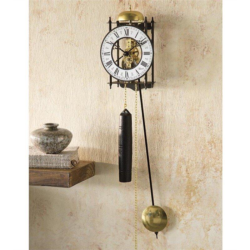 Wind Weather Hermle Iron Skeleton Wall Clock Wayfair