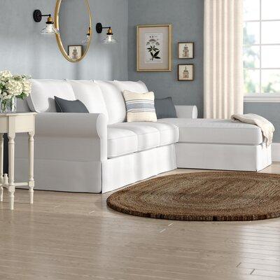 Off White Sectional Sofa Wayfair