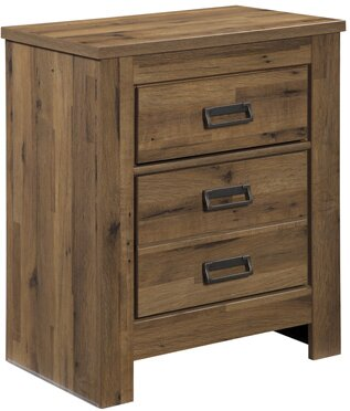 Signature Design By Ashley 2 Drawer Nightstand Reviews Wayfair