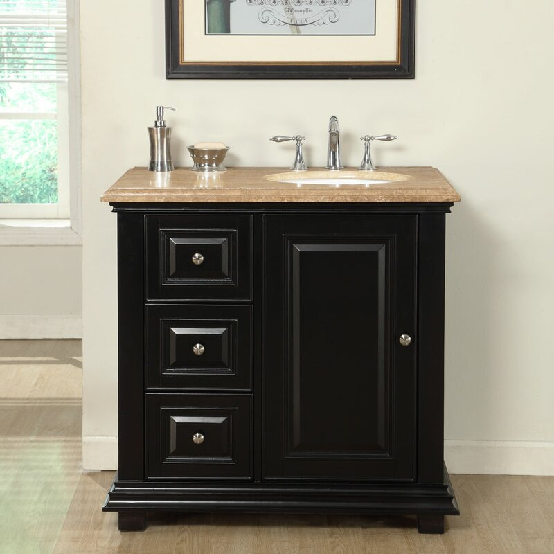 Charmant 42 Inch Right Side Sink Vanity | Wayfair