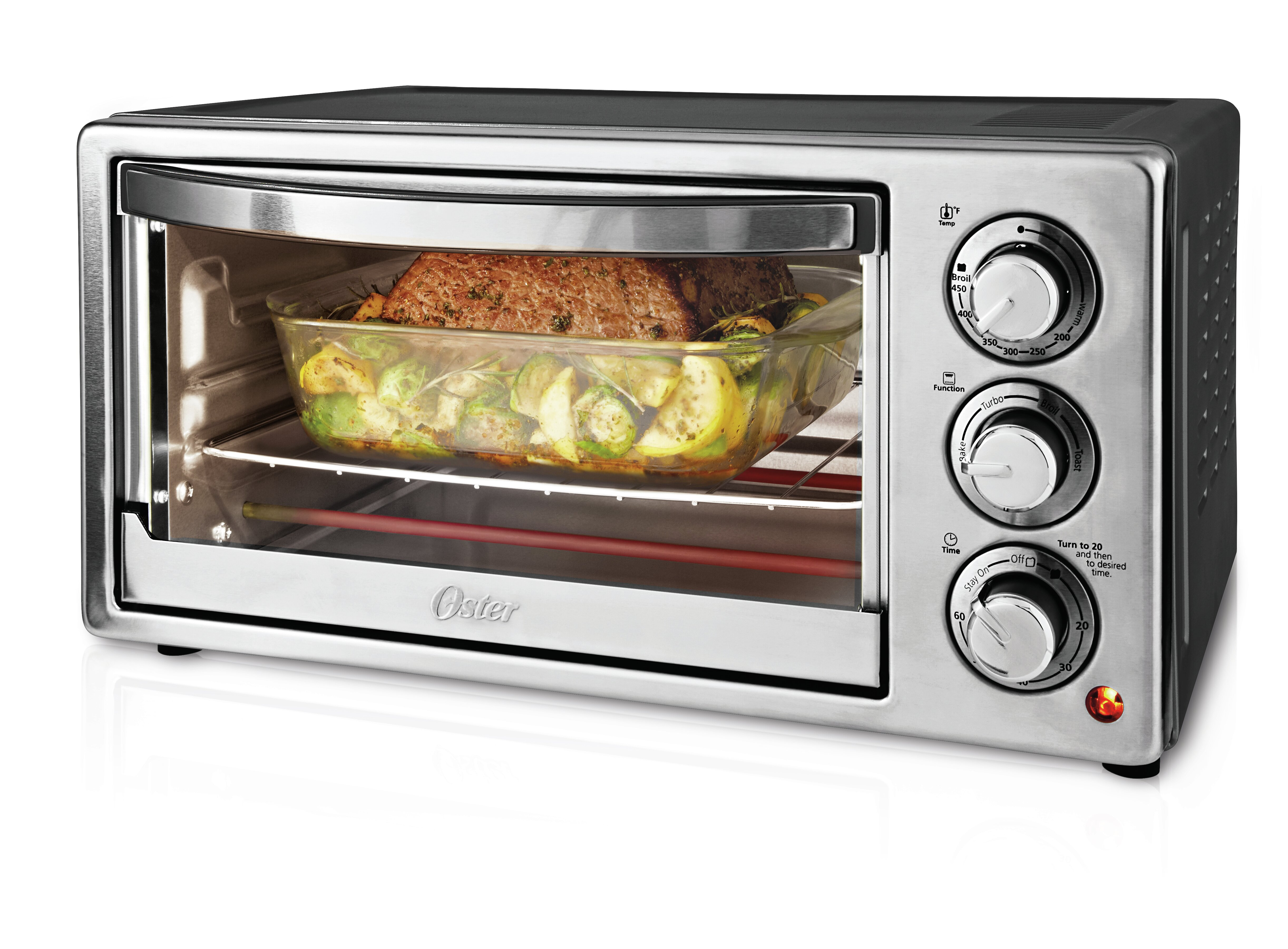 oven deluxe krups toaster countertops large with convection product webcontent heating countertop e