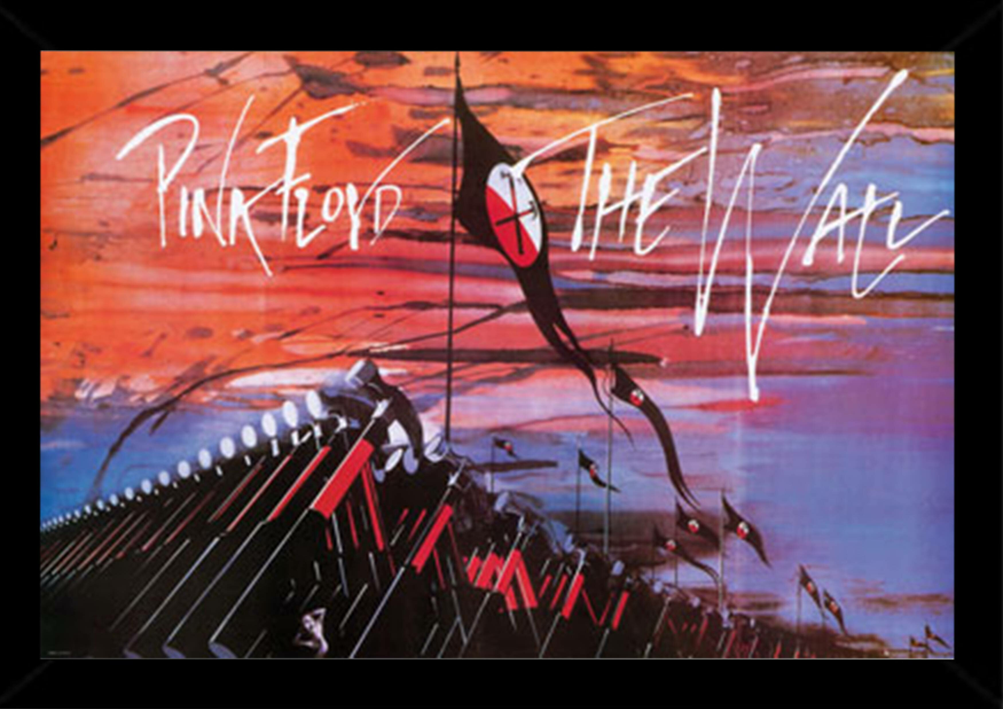 East Urban Home Pink Floyd The Wall Hammers By Roger Waters Framed