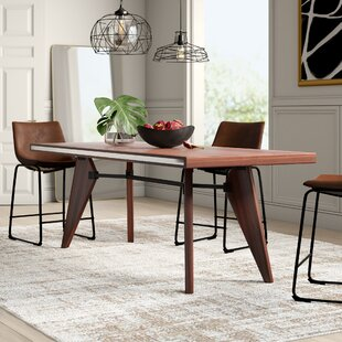 Mulkey Solid Wood Dining Table