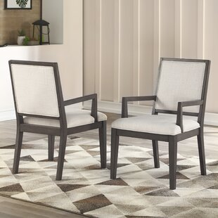 Noyes Upholstered Dining Chair (Set of 2)