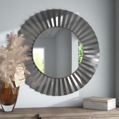 Round Driftwood Mirror Wayfair