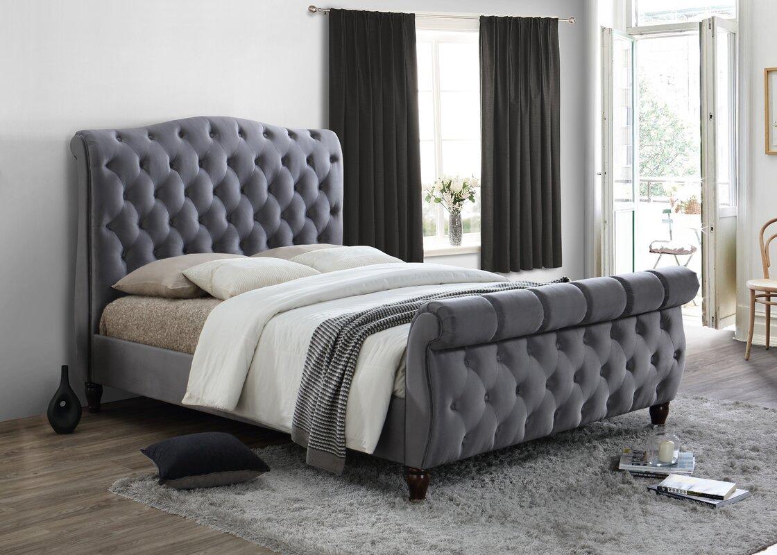 products heath sleigh bed richard furniture parisienne oak solid