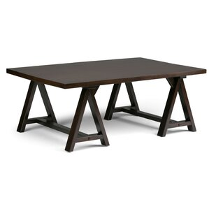 Sawhorse Coffee Table by Simpli Home