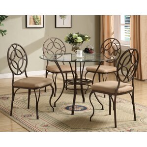 Metal Kitchen U0026 Dining Room Sets Youu0027ll Love | Wayfair