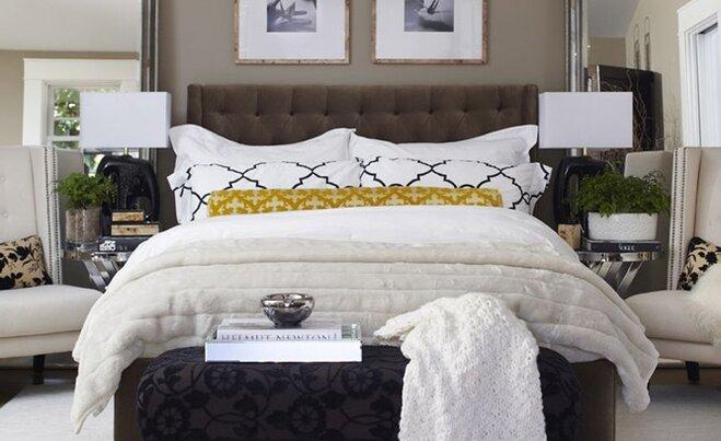 Luxurious Bedroom Decorating