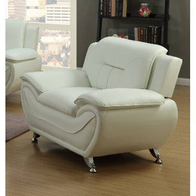 Beige Faux Leather Accent Chairs You Ll Love Wayfair