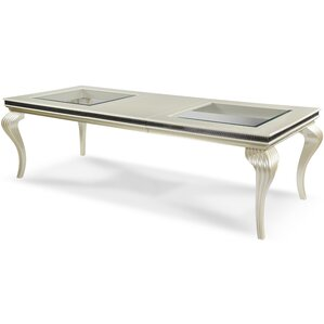 Hollywood Swank 4 Leg Dining Table by Michael Amini (AICO)