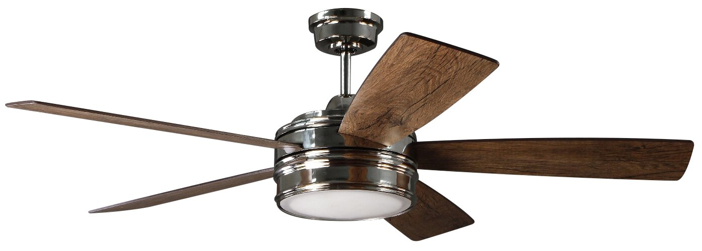 Comfort air 52 ceiling fan hbm blog 52 mathers 5 blade led ceiling fan with remote aloadofball Image collections