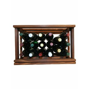 Allaire 17 Bottle Tabletop Wine Rack