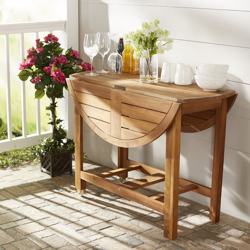 Alanna Solid + Manufactured Wood Dining Table