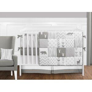 Woodsy 9 Piece Crib Bedding Set