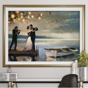 U0027Twilight Romanceu0027 Oil Painting Print