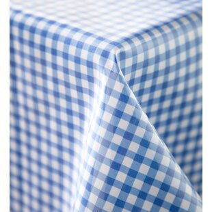 Round Oilcloth Tablecloth | Wayfair