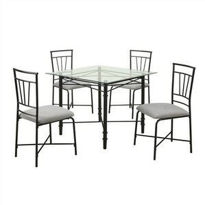 Percival 5 Piece Dining Set by Latitude Run