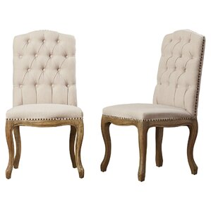 Armstead Tufted Parsons Chair (Set of ..