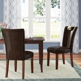 Fenley Parsons Upholstered Dining Chair (Set of 2)