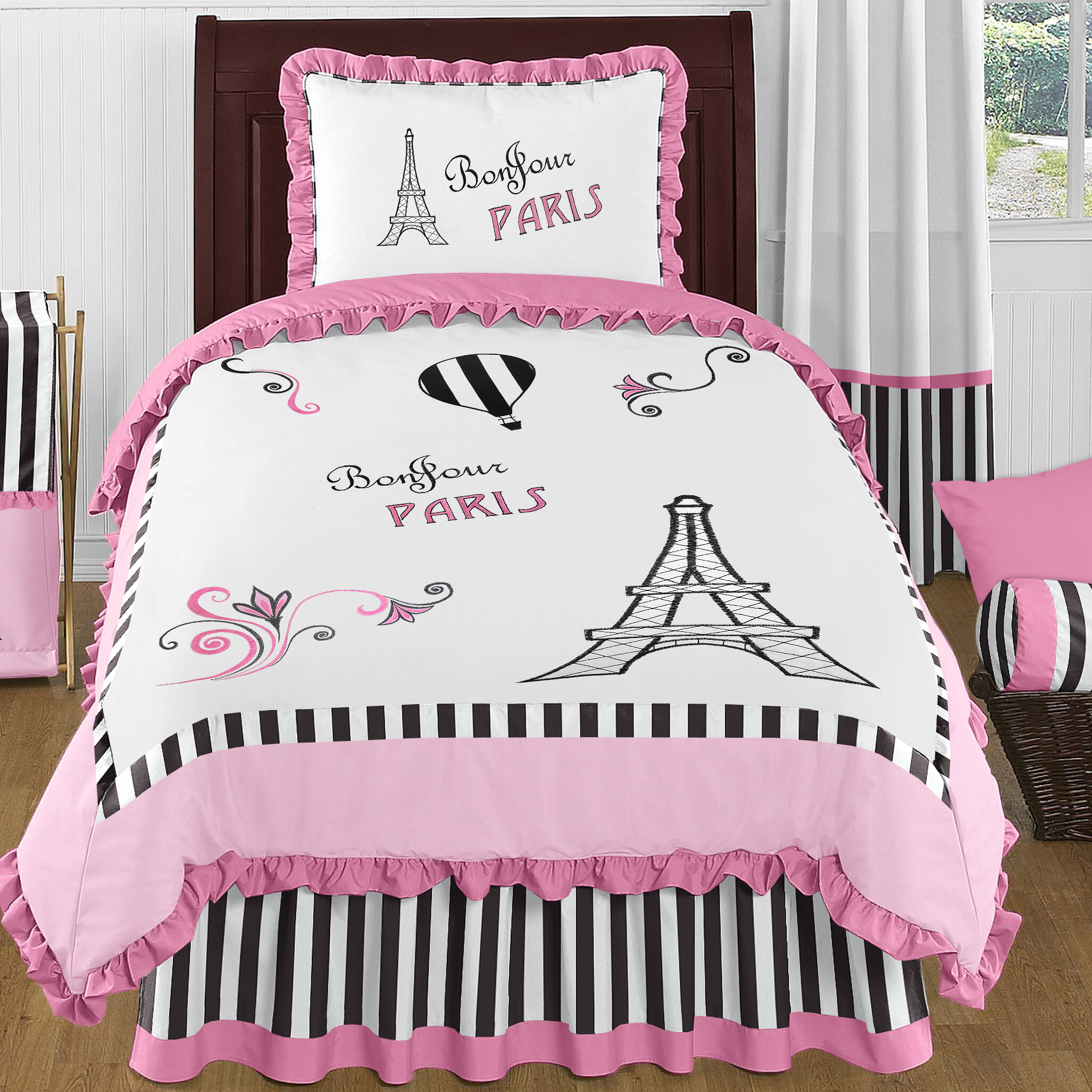 Eiffel Tower forter Set