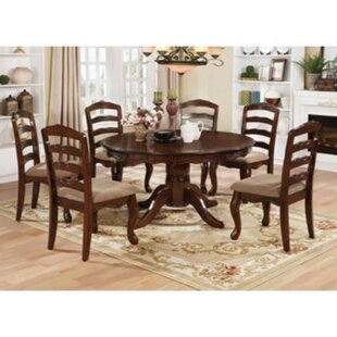 Kamille 7 Piece Solid Wood Dining Set