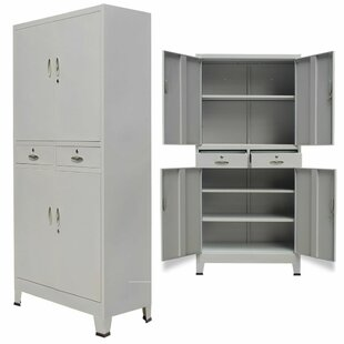 white office cabinet with doors. Broadway 4 Door Storage Cabinet White Office With Doors