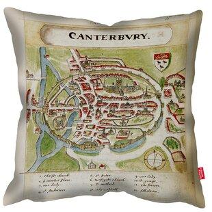 Dekokissen British Library Map Of Canterbury 2