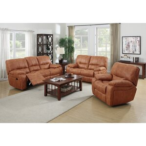 Orleans 3 Piece Living Room Set by Living In Style