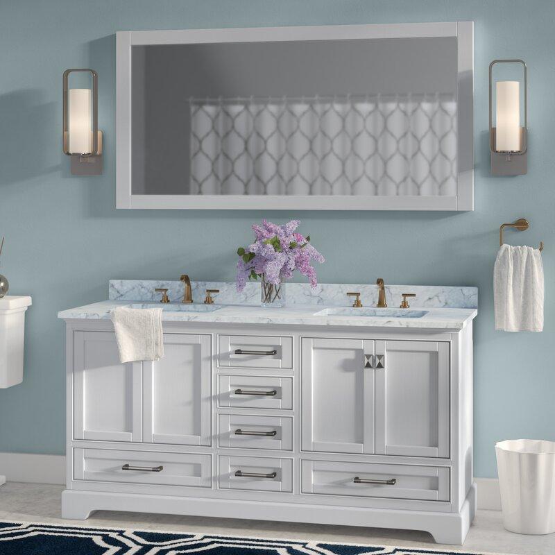 double sink bathroom cabinets.  Double Vanities You ll Love Wayfair