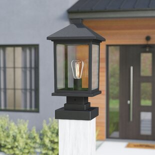 Outdoor Pier Lights Pier mount lights youll love wayfair leroy coastal outdoor 1 light beveled glass pier mount light workwithnaturefo