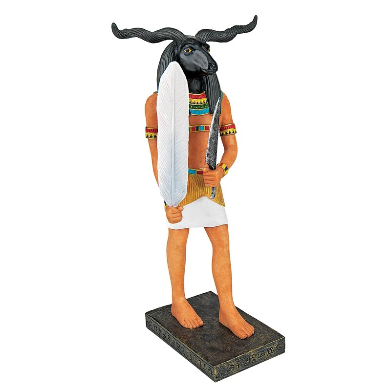 Ancient Egyptian God Khnum Figurine