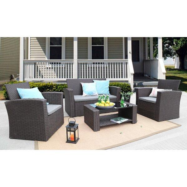 Wicker Furniture Cushion Sets   Wayfair