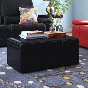 Trisler Large Storage Ottoman by Latitude Run