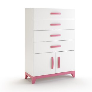 Pamplona 4 Drawer Chest of Drawers by Just Kids
