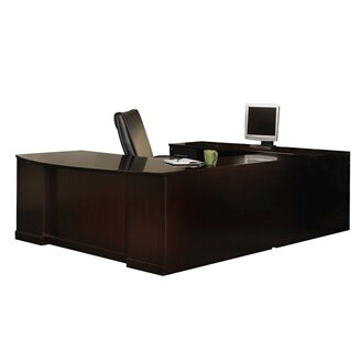 Sorrento Series 4 Piece U Shape Desk Office Suite