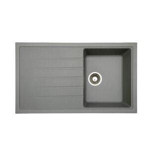 Gray Granite Composite Kitchen Sinks